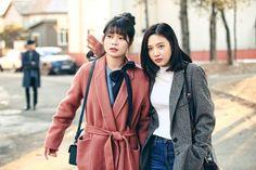 Joy #Tempted #MBC #2018drama #redvelvet Hyun Soo, Tv Show Outfits, Red Velvet Joy, Kim Min, Airport Style, Airport Fashion, Korean Celebrities, Work Fashion, Kpop Girls