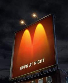 面白い看板、広告、CM | ANKER (I'm assuming this is for McDonald's)