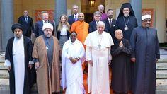 El Papa y líderes de todas las religiones unen fuerzas contra el tráfico de personas - Telefe Interior