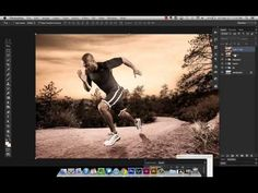Helpful video on using blend modes and adjustment layers to composite two images with different white balances and color temperatures. Similar concept as well.