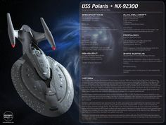 Here are the ship specifications for the USS Polaris. USS Polaris design and specifications by Michael Wiley