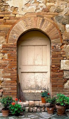 Understated is always so beautiful. This door is in San Quirico d'Orcia, Siena, Italy