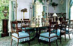 Madeleine Castaing - dining room