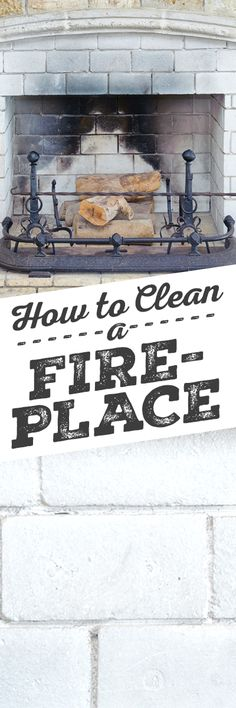 Cleaning your fireplace can be a messy job if not done correctly. The ashes left behind in your fireplace tend to be very fine, which can easily become airborne, potentially creating breathing hazards inside your house. Proper care is important to prevent struggling with the thick black build-up inside your fireplace, spreading ash throughout your living room and sending dust and soot throughout your home.
