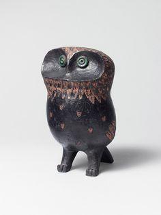 François RATY, 1928-1982, Chouette, 1959, Hauteur : 18 cm