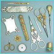 Beautiful Collection of Vintage and Antique Sewing tools. Also on my list of  'treasure hunting' beauties....