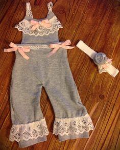3ed1e62446b Newborn Girls Photo Prop -Upcycled Sweater Set - Newborn Overalls - Newborn  Photo Prop - Newborn Headband