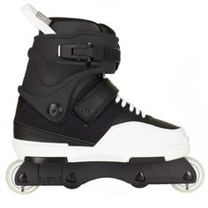 The Rollerblade New Jack Team Aggressive Skates, New Jack, Inline Skating, Roller Skating, New Kids, Nike Shoes, Mens Fashion, Blade Runner, Black And White