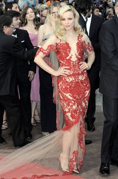 Rachel McAdams in Marchesa, 2011 - The Most Stunning Cannes Film Festival Gowns of All Time  - Photos