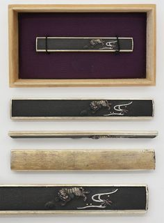 Kozuka: Mumei tiger | Japanese Sword Shop Aoi-Art.