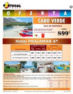 CABO VERDE Isla Santiago Hotel Praiamar 4* desde península por sólo 899 € - http://zocotours.com/cabo-verde-isla-santiago-hotel-praiamar-4-desde-peninsula-por-solo-899-e/
