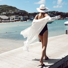 The Effortless Shirtdress Cover-Up - Whit...   Summersalt All White Party Outfits, Holiday Outfits, Beach Bag Essentials, Yacht Fashion, Honeymoon Outfits, Bikini Outfits, Warm Weather Outfits, Boating Outfit, One Piece Suit