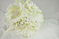 Gerbera Bling! #wedding #bouquet