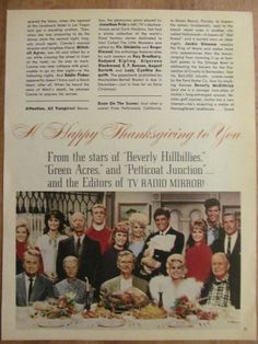Beverly Hillbillies, Green Acres, Petticoat Junction, Full Page Vintage Clipping