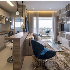Muito charme ❤️ #decor #decoração #decoration #decorando #desing #interiordesing #apartamento #cozinha #cozinhaamericana #saladeestar #homedecor #homedecoration #home #homesweethome