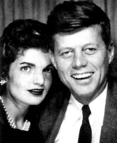 JOHN & JACKIE IN PHOTO BOOTH 1953