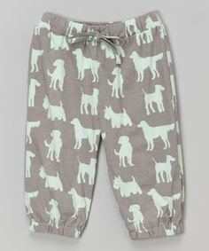 Another great find on #zulily! Gray Dog Organic Sweatpants - Infant & Toddler by kate quinn organics #zulilyfinds