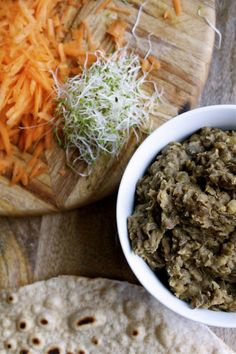 Spiced Lentils & Indian Chapatis : Food Bloggers Against Hunger   In Pursuit of More