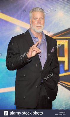 Stock Photo - New Orleans, LA, USA. Apr, Kevin Nash at WWE's 2018 Hall Of Fame Induction Ceremony at the Smoothie King Center in New Orleans, Louisiana on April Credit Smoothie King Center, Kevin Nash, Wwe Couples, Minimalist Tattoos, New Orleans Louisiana, Live News, Husband Wife, Diesel, Red Carpet