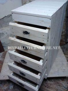 Schublade der Palette Planken