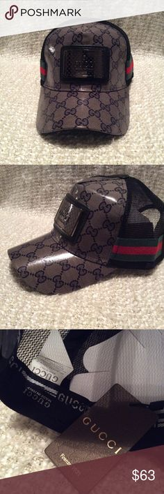 Gucci hat Gucci hat new with tag Gucci Accessories Hats 86b59a4fca1d