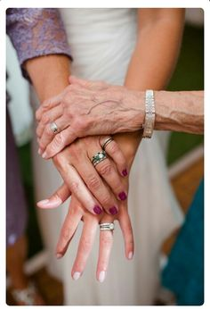 Bride, mom, Grandma