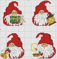 Thrilling Designing Your Own Cross Stitch Embroidery Patterns Ideas. Exhilarating Designing Your Own Cross Stitch Embroidery Patterns Ideas. Xmas Cross Stitch, Cross Stitch Christmas Ornaments, Cross Stitch Cards, Christmas Embroidery, Christmas Cross, Cross Stitching, Cross Stitch Embroidery, Embroidery Patterns, Christmas Gnome