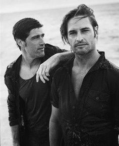 Matthew Fox.  Josh Holloway.