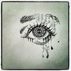 zentangle eye