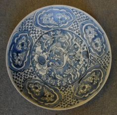 Fine Ming Chinese Swatow Large Blue and White Charger SHIP Wreck Shipwreck | eBay