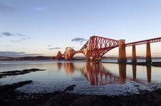 Forth Rail Bridge, Edimburgo, Scozia