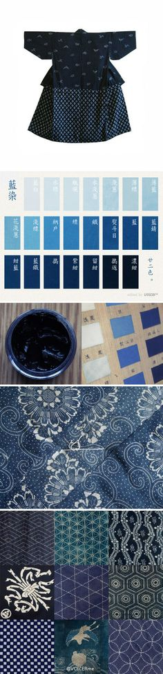 Japanese scenery # Xiaoman Blue dye (Part II) Bleu Indigo, Mood Indigo, Indigo Dye, Shibori, Fabric Yarn, How To Dye Fabric, Textile Fabrics, Textile Patterns, Kind Of Blue