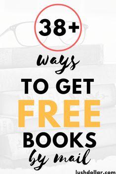 Free Books By Mail, Free Kids Books, Free Books To Read, Free Stuff By Mail, Get Free Stuff, Free Books Online, New Books, Good Books, Freebies By Mail