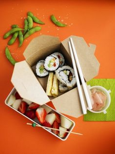 Learn how to make sushi rolls with this step-by-step guide from Jamie Oliver…