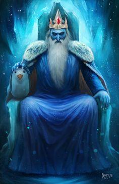 Ice King,ледяной король,adventure time,время приключений,фэндомы,at art,Nopeys