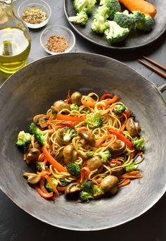 Easy Healthy Meal Prep, Easy Healthy Recipes, Asian Recipes, Easy Meals, Healthy Eating, Ethnic Recipes, Cooking Time, Cooking Recipes, Plats Healthy
