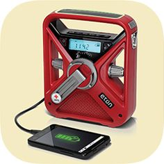 American Red Cross FRX3 Hand Turbine NOAA AM/FM Weather Alert Radio w/ Smartphone Charger #brandnamecoupons #camping #gear #emergency #outdoors #climbing #hiking #backpacking