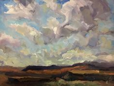 "OVERLOOK  9x12"" oil Landscape Paintings, Landscapes, Art Paintings For Sale, Sky, Artists, Fine Art, Paisajes, Heaven, Scenery"