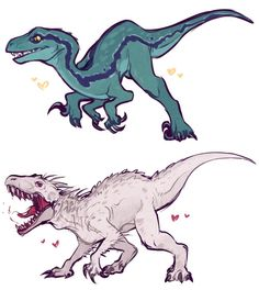 Mythical Creatures Art, Prehistoric Creatures, Fantasy Creatures, Cool Dinosaurs, Jurassic World Dinosaurs, Jurassic Park, Dinosaur Time, Dinosaur Art, Animal Drawings