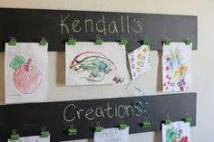 kids art display - Google Search