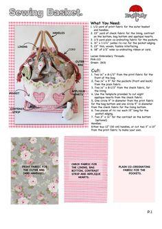 Sewing Basket Tutorial