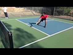 Pickleball: Half-Court Drill + 3 ways to get to the NVZ-THE PICKLEBALL COACH - YouTube