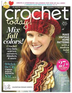 fanatica del tejido: crochet today 2011
