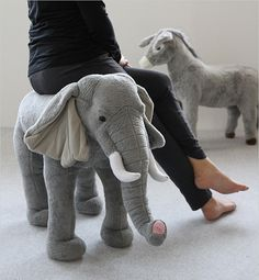 ANIMAL STOOL Elephant