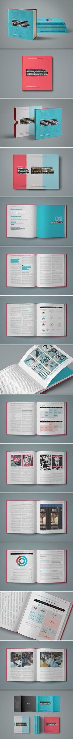 Proyecto de diseño editorial para mi tesis doctoral.