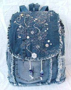 90c0beb0f191 Výsledek obrázku pro how to make a backpack out of jeans