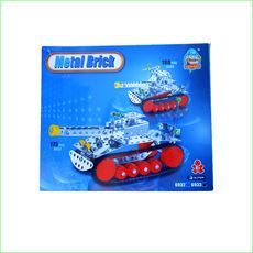 Metal Block Construction Toy Tank - Green Ant Toys http://www.greenanttoys.com.au/shop-online/construction-toys/metal-block-toys/tank-2/