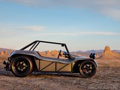 Beach buggies are cool. That's a given. But with the nature of what they're built for, it's not uncommon to find them shabby, rattly and, ...