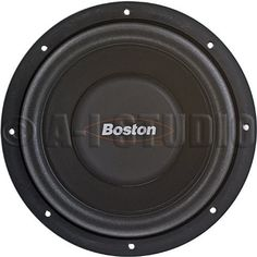 "Brand New Boston Acoustics G108-44 8"" 400 Watt Dual 4 Ohm G1 Series Subwoofer by Boston Acoustics. $87.83. Brand New Boston Acoustics G108-44 8"" 400 Watt Dual 4 Ohm G1 Series Subwoofer Features:  8"" Dual 4 Ohm G1 Series Subwoofer 1-1/2"" Peak-to-peak excursion 2"" 4-Layer dual 4 ohm voice-coil Copolymer cone woofer Foam surround Radialvent® cooling, for increased power handling SureSetTM impedance selection and overdrive protection Multiple enclosures types and tuning options ava..."