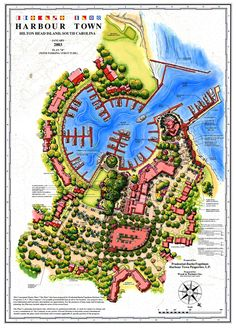 Sea Pines Plantation Resort Harbour Town Redevelopment Master Plan